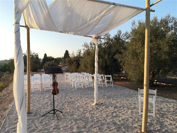 חתונת אסאדו בטבע חופה
