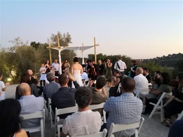 שף אסאדו חתונה בטבע
